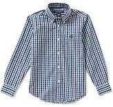 Brooks Brothers Little/Big Boys 4-20 Non-Iron Mini Tartan Shirt