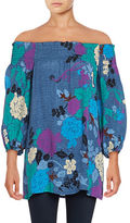 Plenty by Tracy Reese Floral Off-The-Shoulder Top