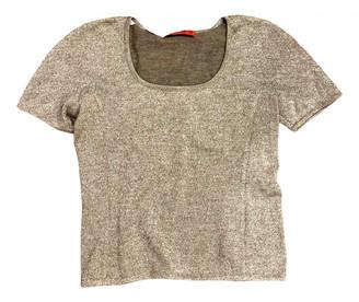 Valentino Silver Wool Knitwear