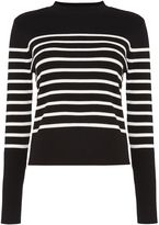 Vero Moda Emanuelle long sleeve high neck jumper