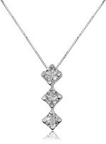 Forzieri 0.12 ct Diamond Drop 18K Gold Necklace