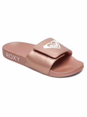 Roxy Women's Slippy Slide Beach & Pool Shoes