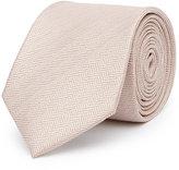Reiss Solo Herringbone Silk Tie