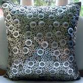 Silver Throw Pillows Cover for Couch