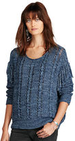 Denim & Supply Ralph Lauren Fringed Cotton Sweater