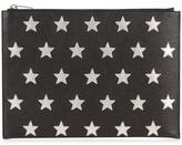 Saint Laurent Stars-appliqué Leather Document Holder