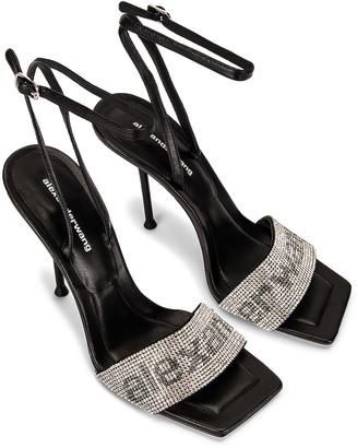 Alexander Wang Julie Ankle Strap Sandal in Black | FWRD