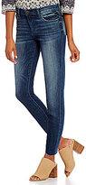 KUT from the Kloth Allie Crop Boyfriend Raw Hem Jeans