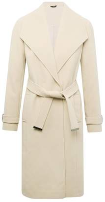 M&Co Belted wrap coat