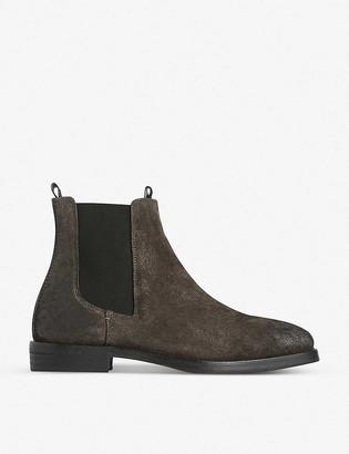 AllSaints Eli suede Chelsea boots