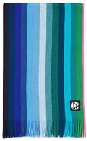 Paul Smith Gradient Wool Stripe Scarf