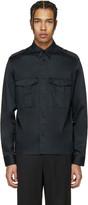Maison Margiela Black Military Shirt