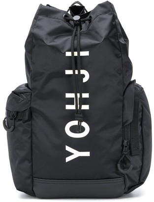 Y-3 Graphic Print Backpack