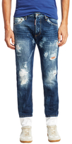 DSQUARED2 Dan Distressed Skinny Jeans