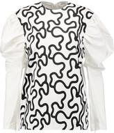 J.W.Anderson Printed cotton-blend blouse