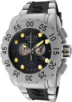Invicta Men's 0799 Reserve Collection Leviathan Chronograph Black Polyurethane Watch