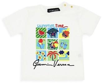 Versace Baby Boy's Summer-Print Cotton T-Shirt