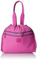 Tommy Hilfiger Nylon Drawstring Tote Top Handle Bag