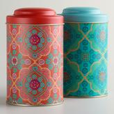 Cost Plus World Market Mosaic Tea Tins, Set of 2