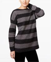 Eileen Fisher Striped Wool Sweater
