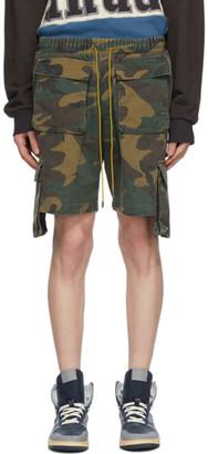 Rhude Multicolor Cargo Shorts