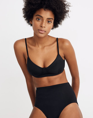 Madewell Second Wave Structured Bikini Top