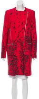 Preen Wool Patterned Coat