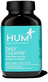 Hum Nutrition Daily Cleanse - Clear Skin & Acne Supplement