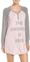 PJ Salvage Peachy Jersey Nightshirt