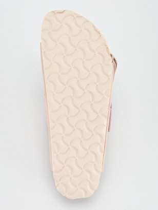 Birkenstock Arizona Double Strap Big Buckle Flat Sandals - Light Rose