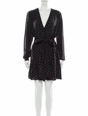 Saint Laurent 2018 Mini Dress w/ Tags Black
