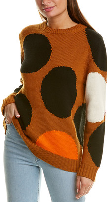 Chinti and Parker Dot Wool & Cashmere-Blend Sweater