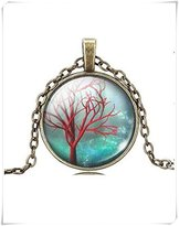 Flowers TREE Of Life Pendant Tree of life Necklace Jewelry Necklace for him Art Gifts for Her