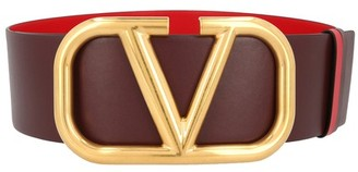 Valentino reversible Vlogo belt H. 7 cm