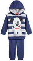 Nannette 2-Pc. Puppy Hoodie & Pants Set, Baby Boys'