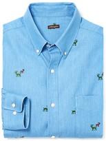 J.Mclaughlin Carnegie Classic Fit Shirt in Reindeer
