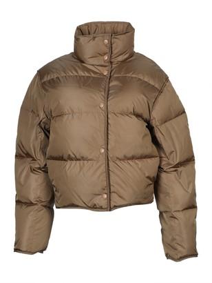 Acne Studios High Neck Puffer Jacket Antique Brown