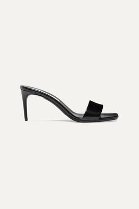 Stella McCartney + Net Sustain Faux Leather Mules - Black