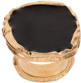 ASOS Enamelled Ring With Metal Surround