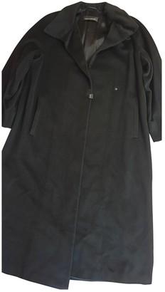 Ramosport Black Wool Coat for Women Vintage
