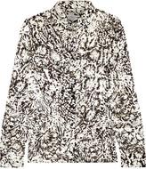 Maison Margiela Flocked jacquard shirt