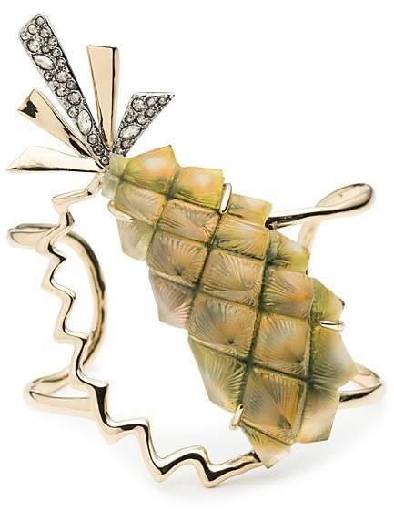 Alexis Bittar Pineapple Cuff Bracelet