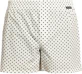 Dolce & Gabbana Polka-dot print cotton-poplin boxer shorts