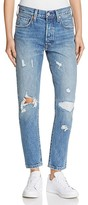 Levi's 501® Selvedge Skinny Jeans in Pacific Ocean Blues