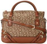 Calvin Klein Hudson Buckle Jaq Satchel Top Handle Bag