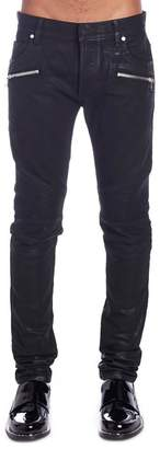 Balmain Slim-Fitted Denim Jeans