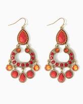 Charming charlie Rita Mixed Gems Earrings