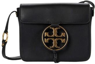 Tory Burch Miller Metal Crossbody (Black) Handbags