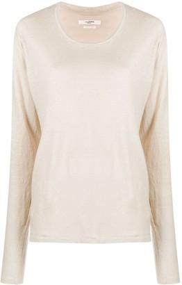 Etoile Isabel Marant Long-Sleeve Knit Top