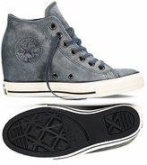 Converse Chuck Taylor Lux Mid 550670C /Egret Hidden Platform Wedge Women's Shoes (size 9)